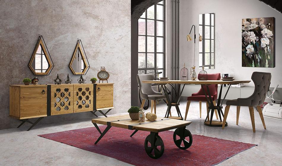Antik Yaşam Odası inegöl mobilya yemek odaları